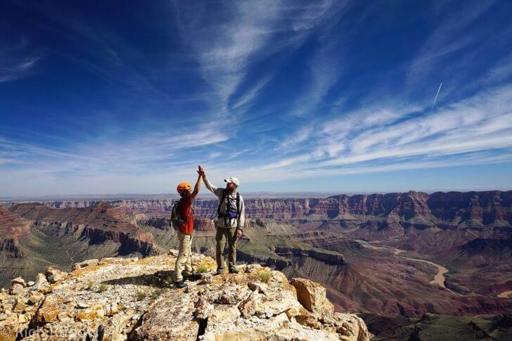 Vishnu Temple, Rudow Grand Canyon's Rim Traverse News Story