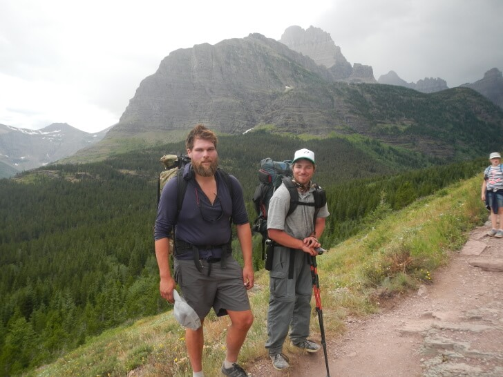 Ptarmigan Trail, North, Many Glacier, MYOG, Seek Outside Unaweep Frame Packs, Glacier Park Packrafting Adventure Schmidt