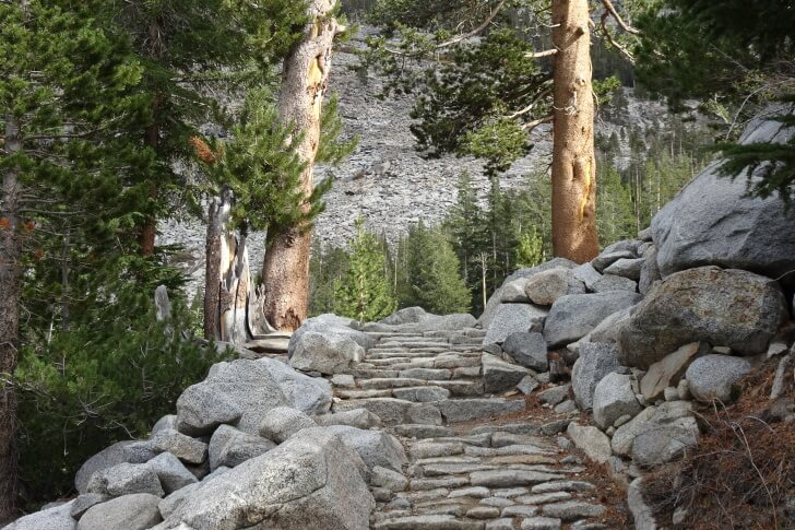 Stairs, John Muir Trail, Autumn, Jorgen Johansson