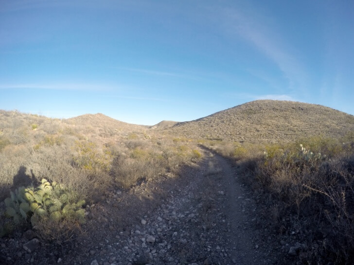 Old Jeep Trail, Rancherias Loop Trail Schmidt