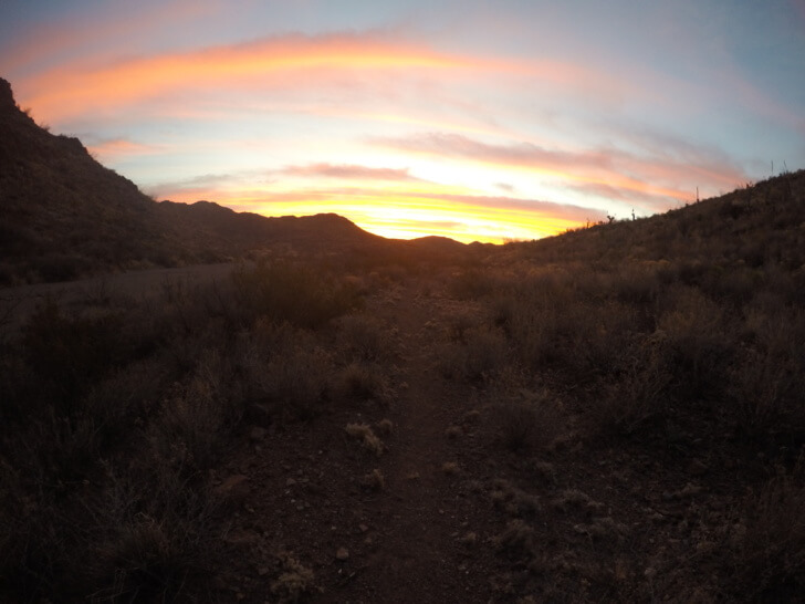 Sunrise, Jeep Trail, Rancherias Loop Trail Schmidt