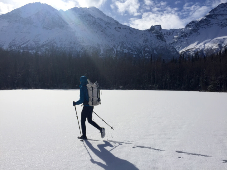 Arc'teryx Nuclei FL Jacket Review: Max in the Chugach mountains, AK.