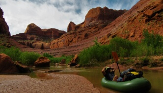 "<span class=""membersonly""></span> Escalante Packrafting and Technical Canyoneering"