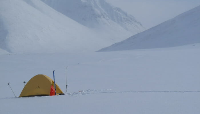 """<span class=""""membersonly""""></span> Lightweight Backpacking in the Winter: Gear and Techniques from the Arctic"""