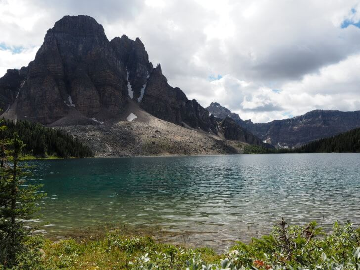 Backpacking Mount Assiniboine: Elizabeth Lake.