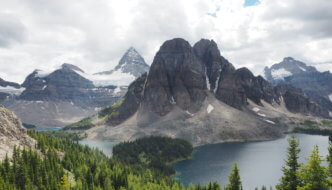 The Marvel Pass Backpacking Trail to Mount Assiniboine: Part 2