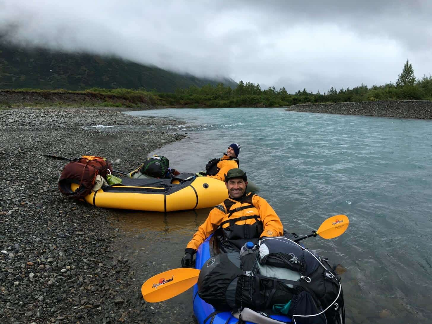 Packrafting Southwest Alaska: Lower Milk Creek.