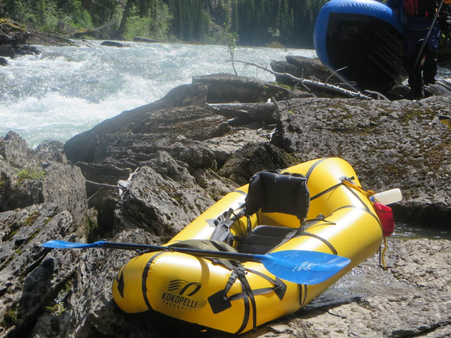 Packraft SOM Report: A self-bailing raft has several advantages in whitewater.