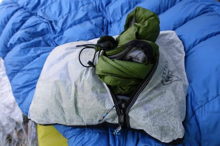 Hyperlite Mountain Gear Stuff Sack Pillow Review