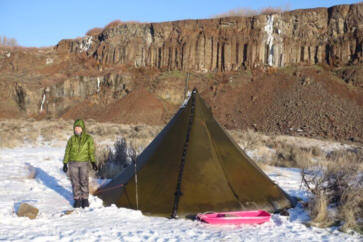 IMG_1131 & Seek Outside Tipi Review: An Ultralight Stove Tent for Cold ...