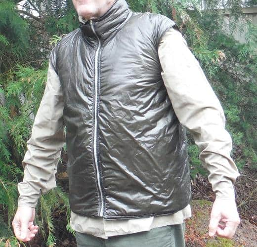 MYOG synthetic fill vest - patterns, instructions, and materials.
