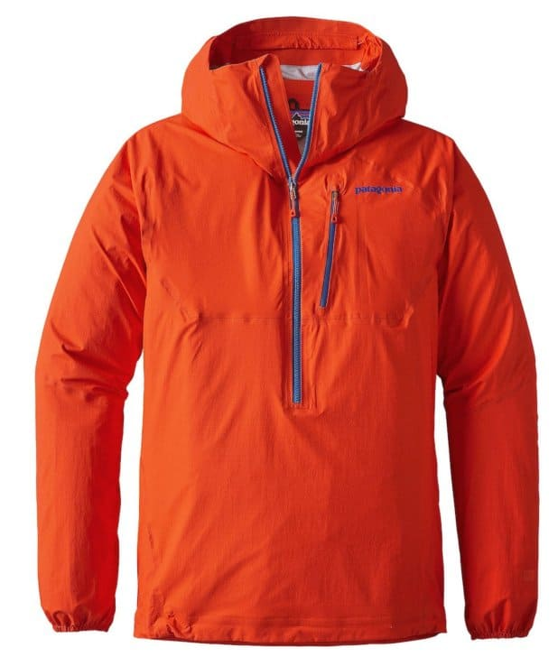 Patagonia M10 Anorak Review - a lightweight, minimalist rain jacket.