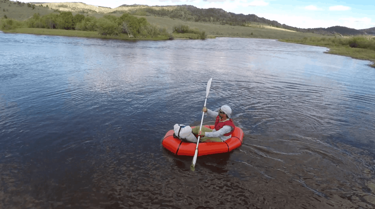 Alpacka Scout Packraft Review Video Backpacking Light