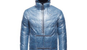 71g BlackYak Emergency Jacket Provides Waterproof Protection at Lightest Weight Possible