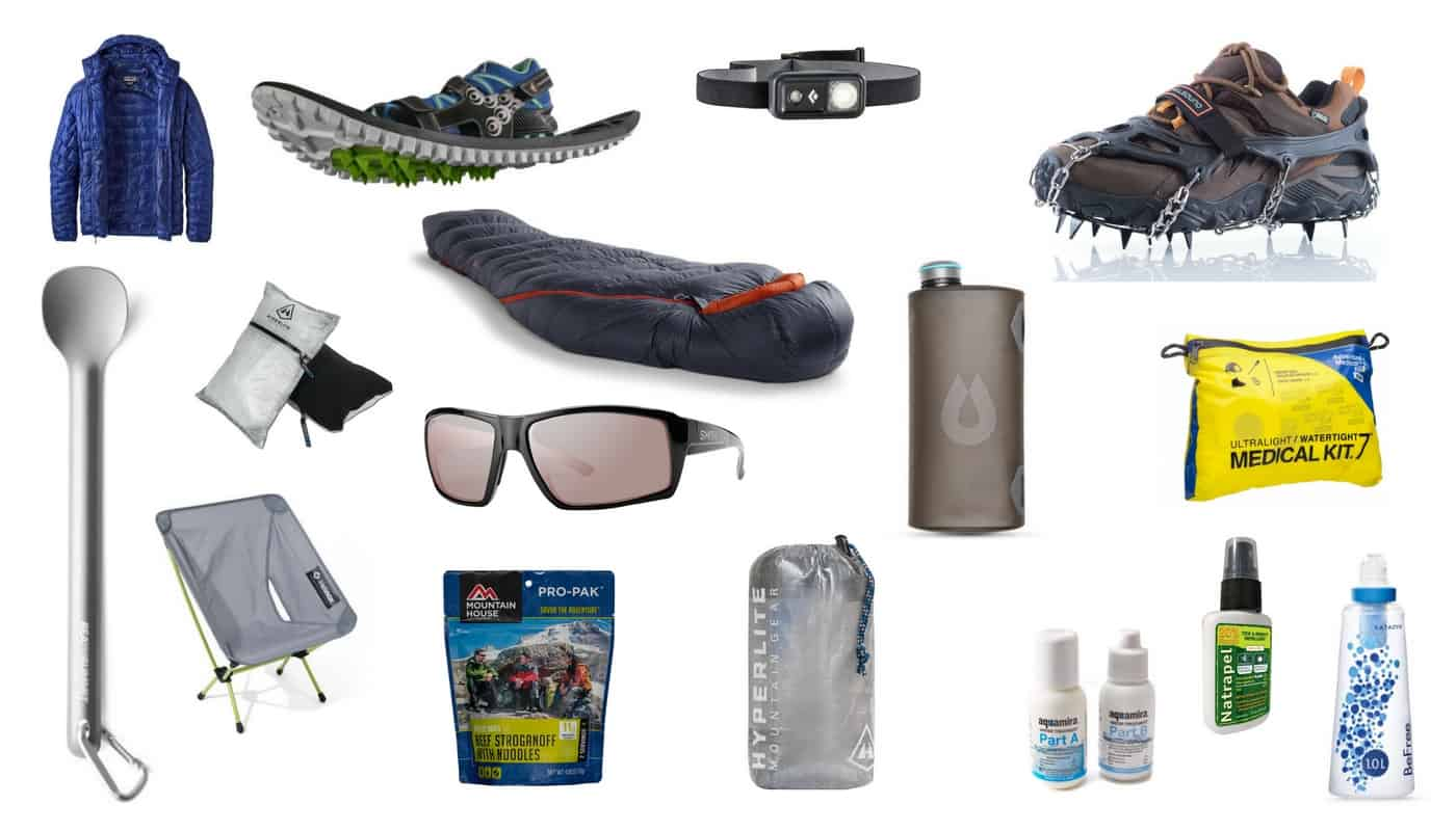 Publishers Gear Guide My Personal Lightweight Backpacking Recommendations