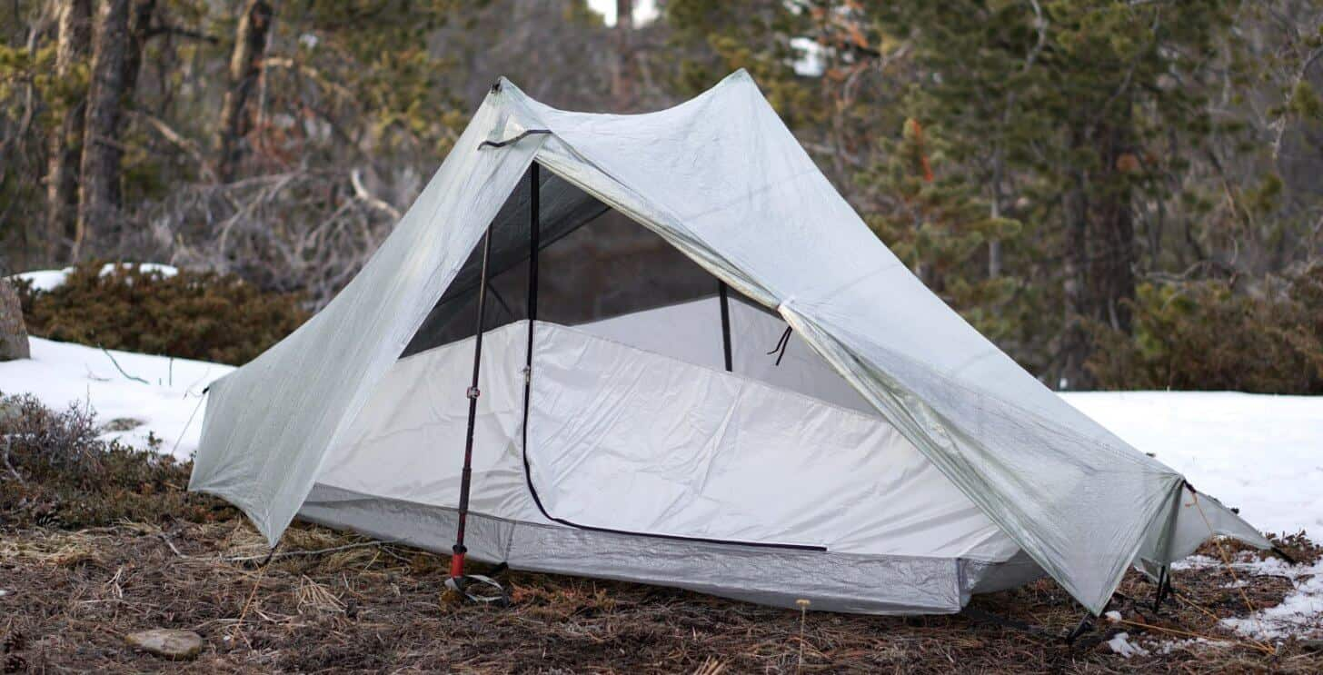 tarptent notch li review inner tent options solid fabric