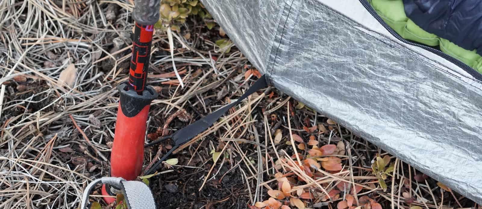 tarptent notch li review trekking pole inner tent attachement