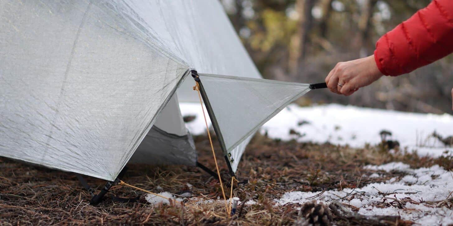 tarptent notch review lower end vents