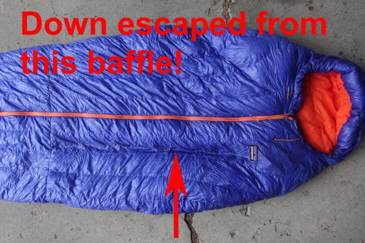 Patagonia 19 Degree Sleeping Bag no down 728x485
