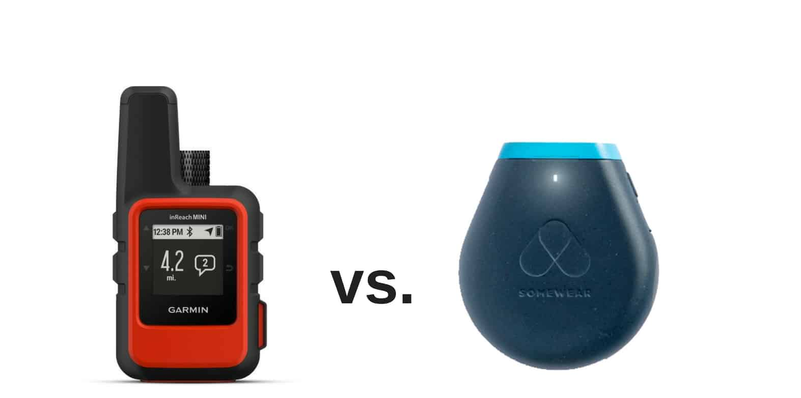 garmin inreach mini vs somewear satellite hotspot 1