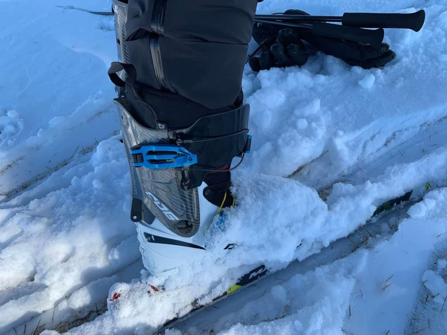 arcteryx zeta sl pant review cuff size ski