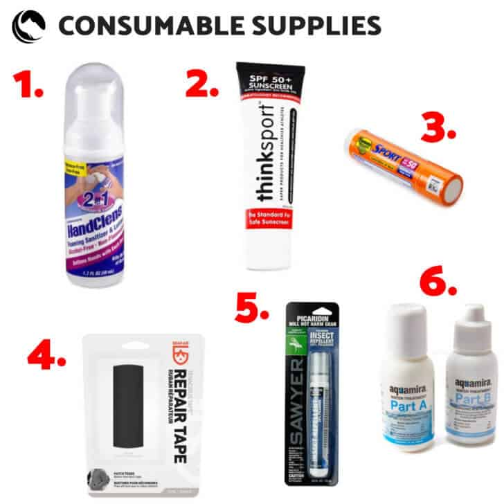 consumable supplies