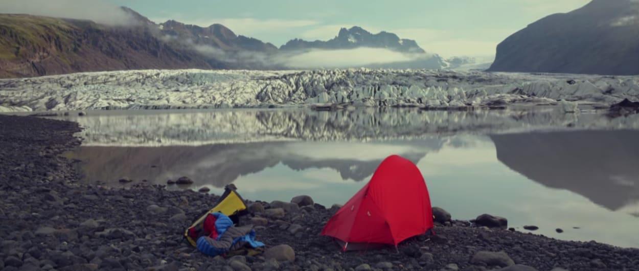 Camp Jokulsarloon Glacier