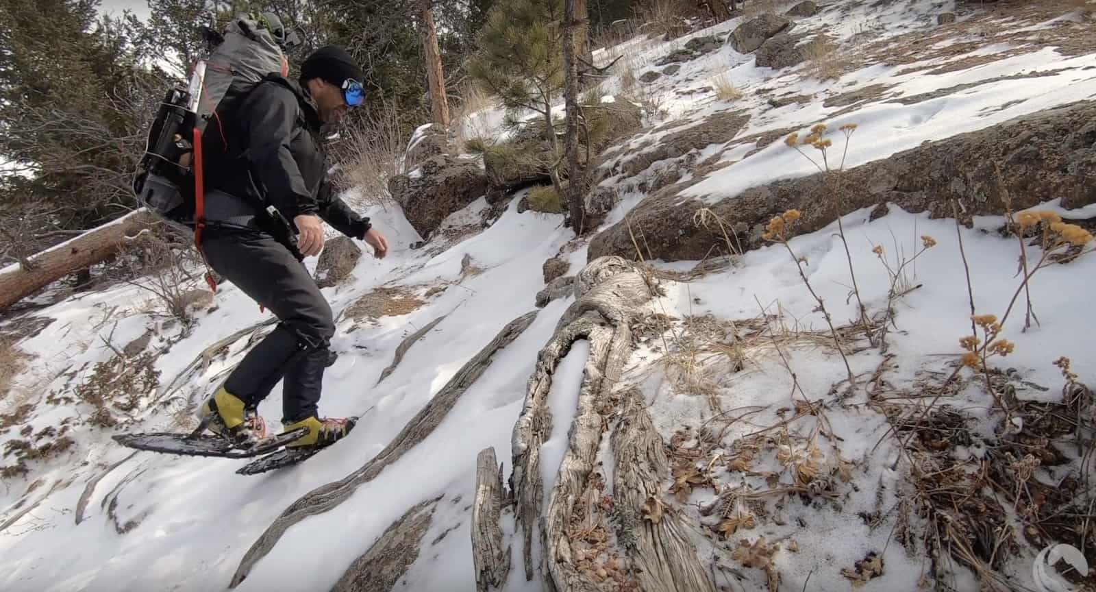 northern lites honey badger snowshoes ryan jordan