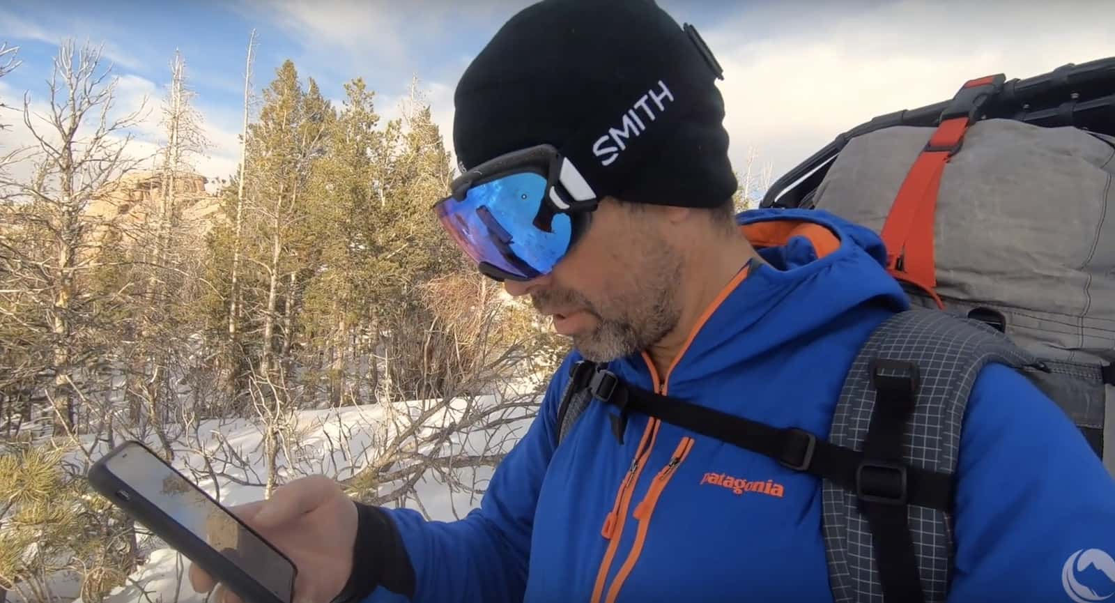 smith ios goggles backpacking light ryan jordan