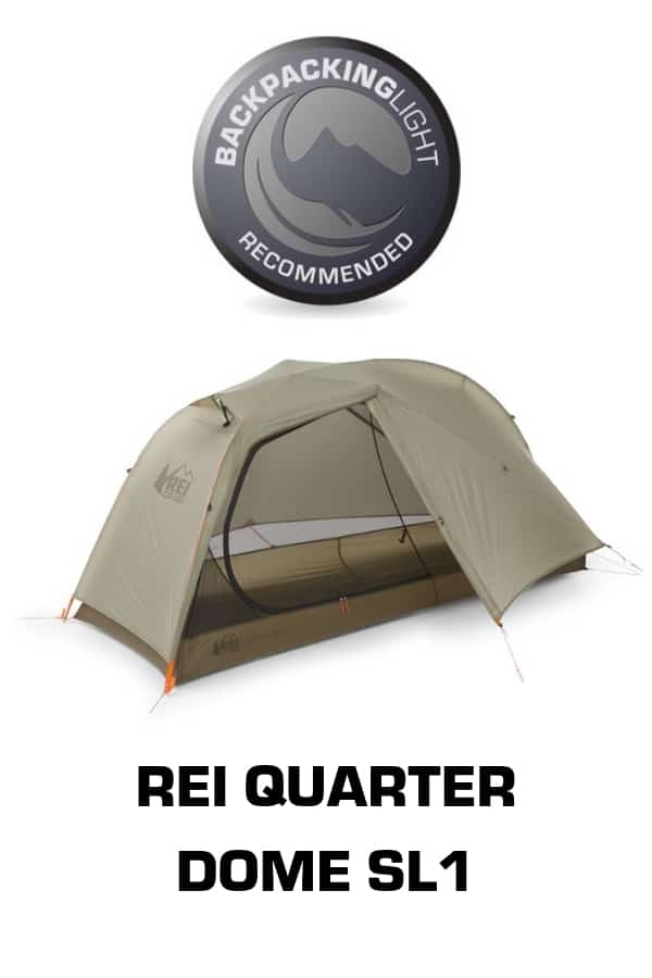 rei quarter dome sl1 recommended