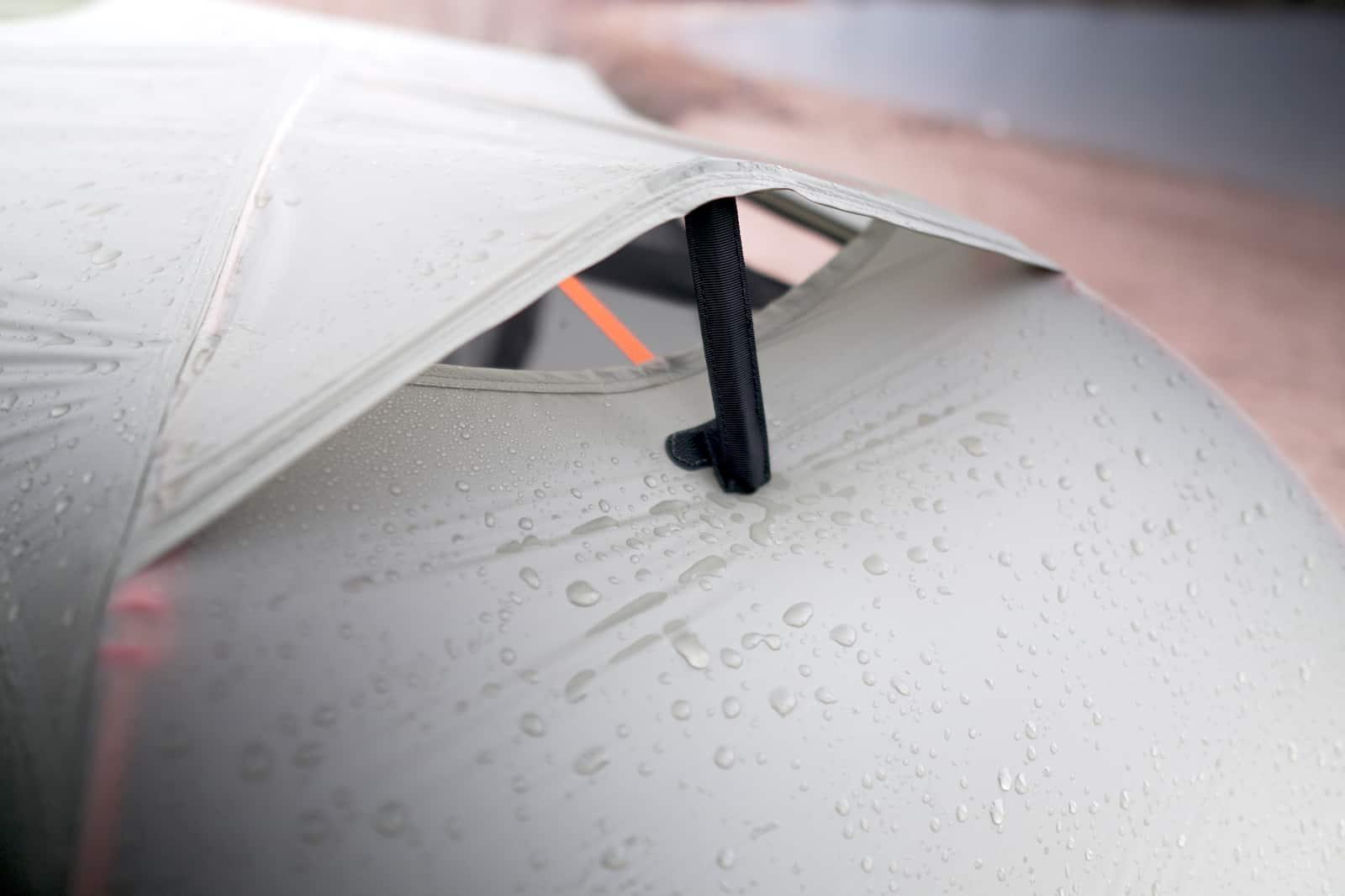rei quarter dome sl1 review roof vent