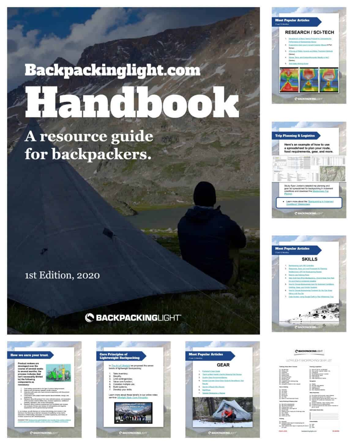 Backpacking Light Handbook
