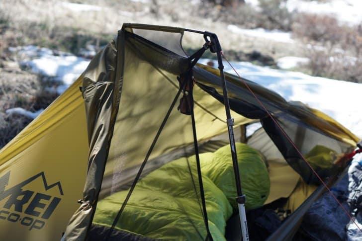 rei flash air 1 tent review views ventilation