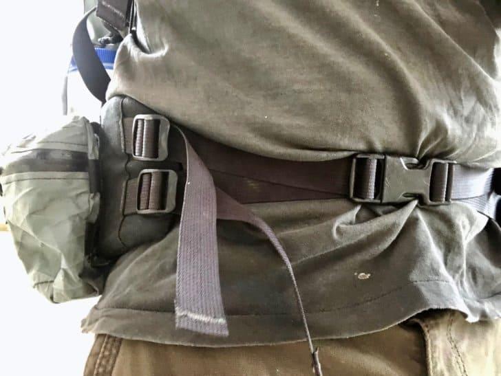 Dual hipbelt