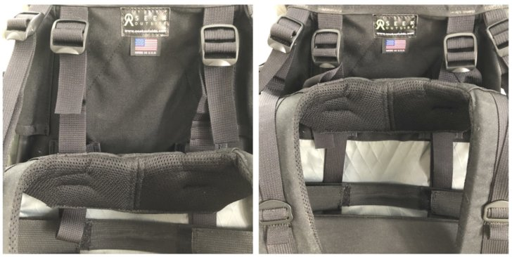 Harness adjustment yoke