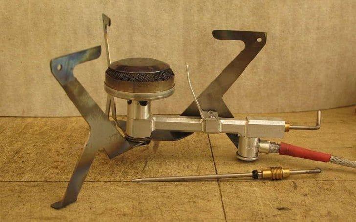 a bulky stove body