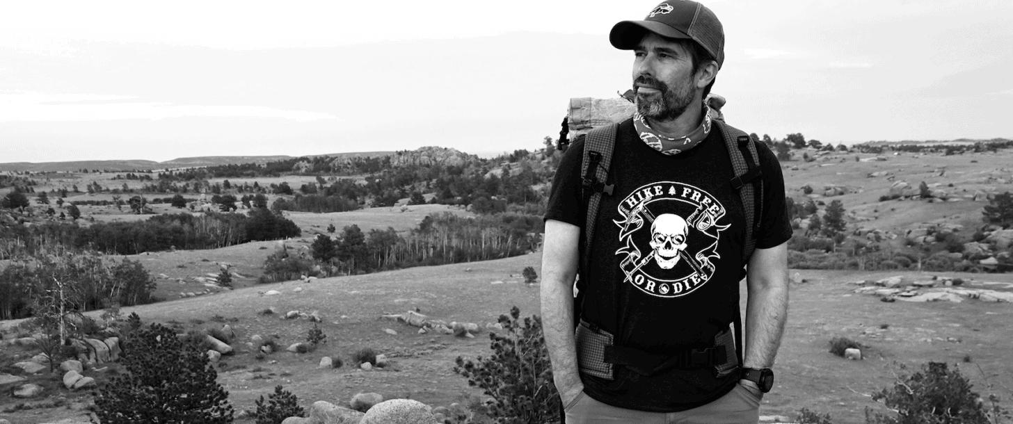 hike free or die shirt