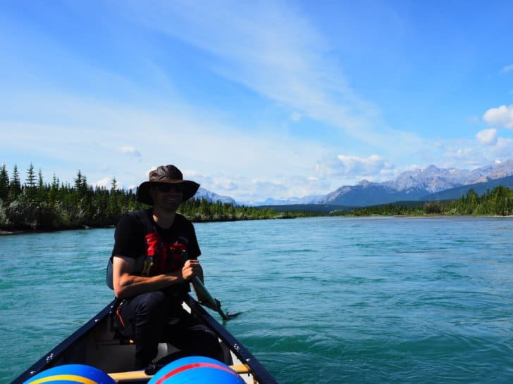 Nahanni River by Canoe: Apparent Calm Lake Water (Image 1 of 2)