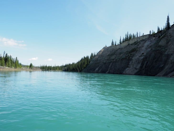 Nahanni River by Canoe: Apparently Calm River Water (Image 2 of 2)