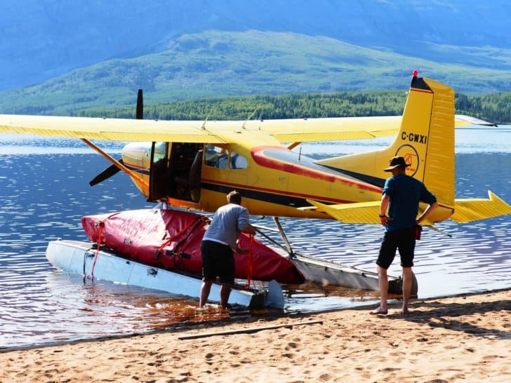 Nahanni River by Canoe: Loading the Cessna #2