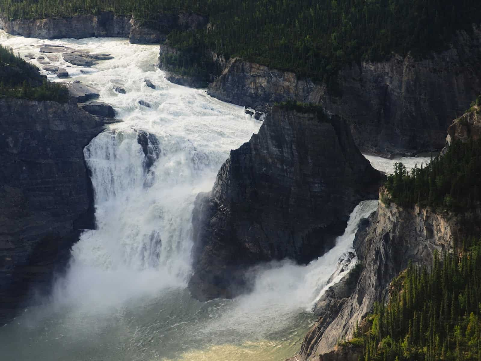 Nahanni River by Canoe: The tallest waterfall in North America