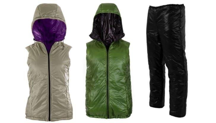 Torrid apex: women's vest, men's vest, and pants
