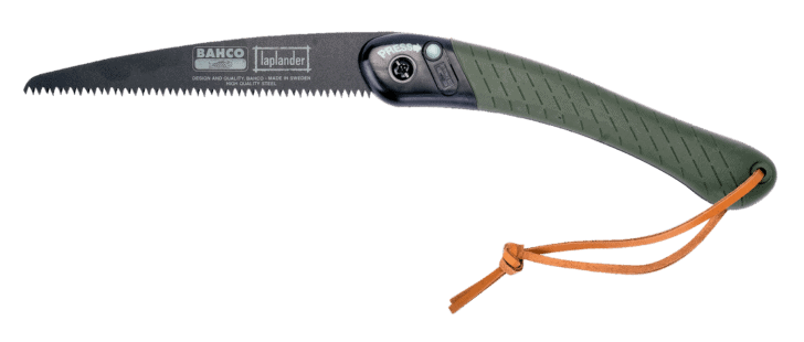 lightweight wood saws for backpacking: bahco laplander pruning saw