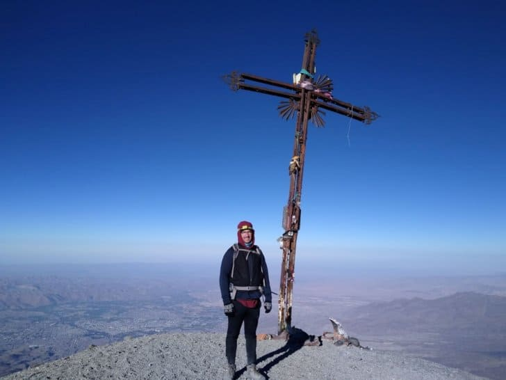 summiting misti the challenges of high altitude hiking: summit cross