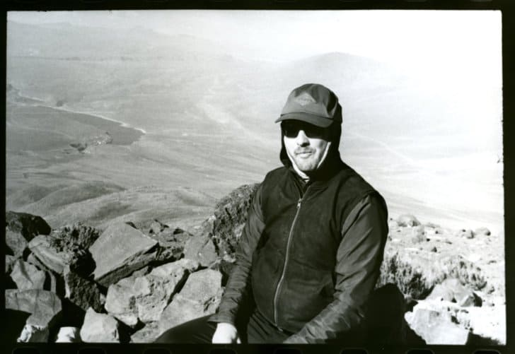 summiting misti the challenges of high altitude hiking: James at basecamp