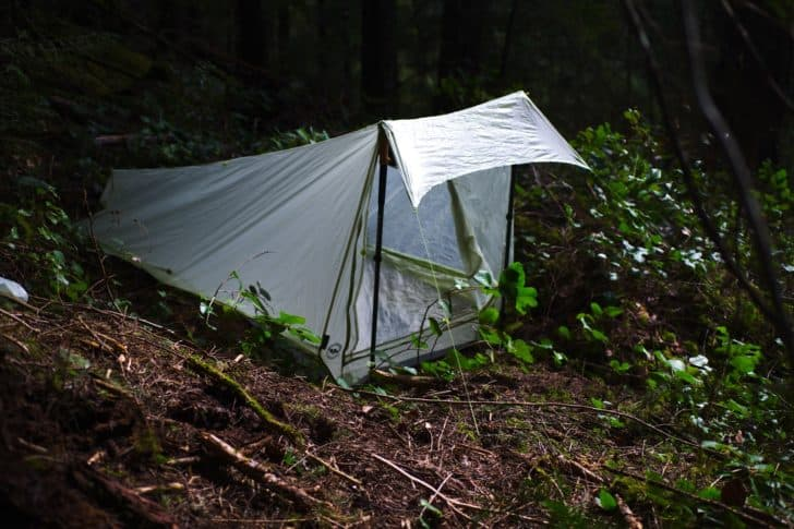 big agnes scout 1 platinum review: Scout 1 Platinum set up in the port