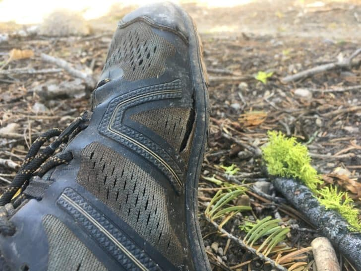 xero shoes mesa trail: mesh failure