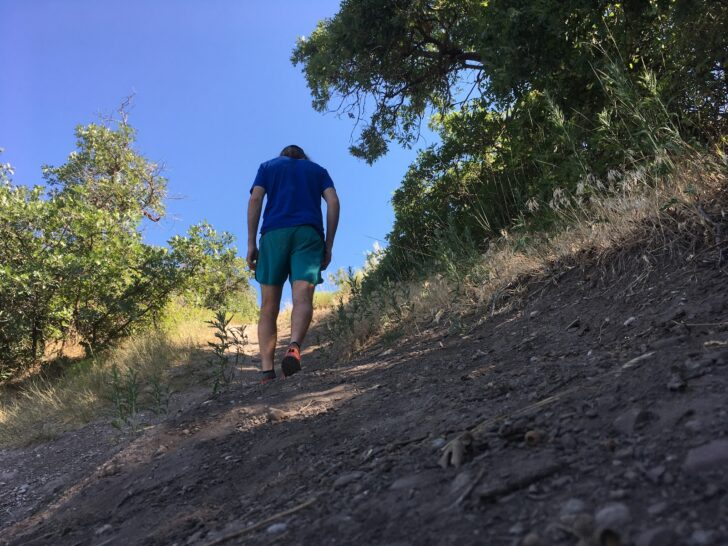 Why I walk : The Author on the Bonneville Shoreline Trail in Salt Lake City