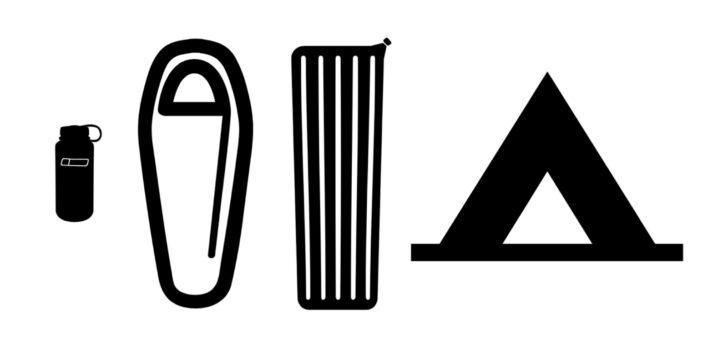 Sleeping bag temperature ratings: Noun gear group
