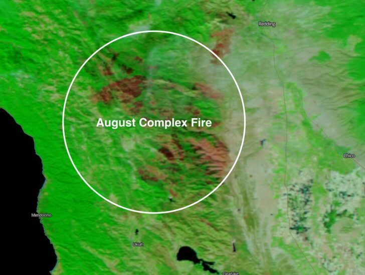 August fire annotated